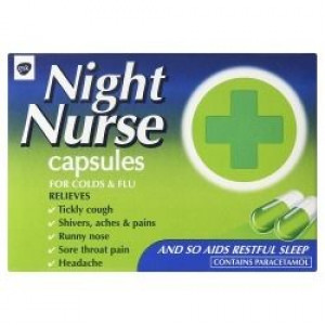Image for Night Nurse Capsules 10 Capsules