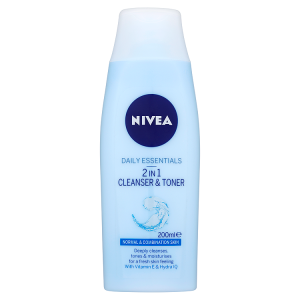 Image for NIVEA Daily Essentials 2 in 1 Cleanser & Toner 200ml