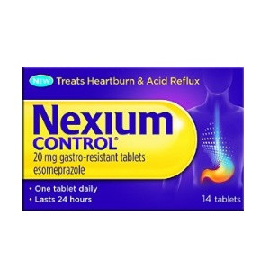 Image for Nexium Control Gastro-Resistant Tablets 14 Tablets