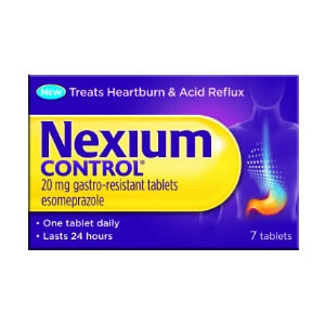 Image for Nexium Control Gastro-Resistant Tablets 7 Tablets
