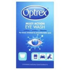 Image for Optrex Multi Action Eye Wash 100ml