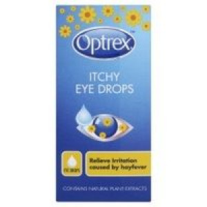 Image for Optrex Itchy Eye Drops 10ml