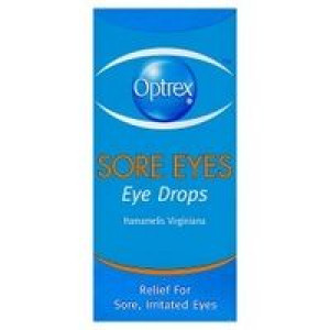 Image for Optrex Sore Eyes Eye Drops 10ml