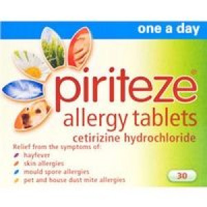 Image for Piriteze Allergy Tablets 30 Tablets