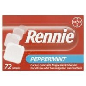 Image for Rennie Peppermint 72 Tablets
