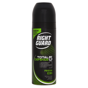 Image for Right Guard Total Defence 5 Fresh 48H High-Performance Anti-Perspirant Deodorant 150ml