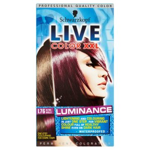 Image for Schwarzkopf Live Color XXL Luminance Permanent Coloration L76 Ultra Violet