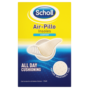 Image for Scholl Air-Pillo Insoles Comfort 1 Pair