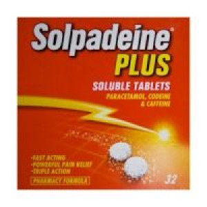 Image for Solpadeine Plus Soluble 32 Tablets