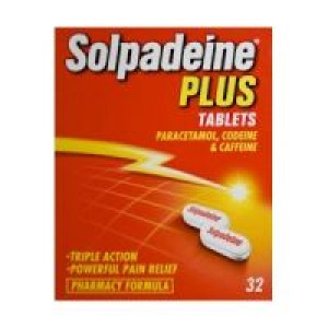 Image for Solpadeine Plus 32 Tablets