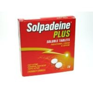 Image for Solpadeine Plus Soluble 16 Tablets