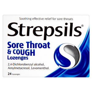 Image for Strepsils Sore Throat & Cough Lozenges 24 Lozenges