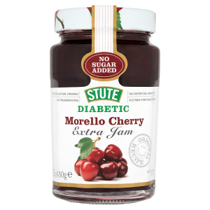 Image for Stute Diabetic Morello Cherry Extra Jam 430g