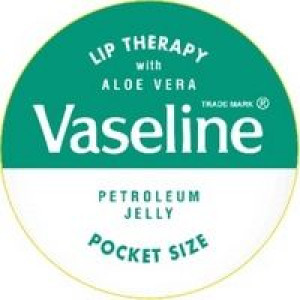 Image for Vaseline Lip Therapy with Aloe Vera Pot