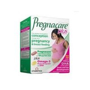 Image for Vitabiotics Pregnacare Plus 28 Tabs/28 Caps