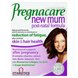 Image for Vitabiotics Pregnacare New Mum Post-Natal Formula 56 Tablets