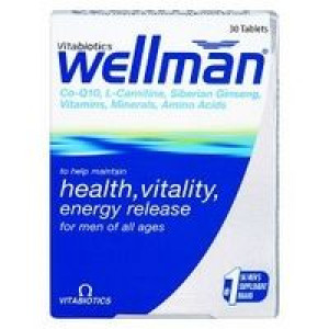Image for Vitabiotics Wellman Original 30 Tablets