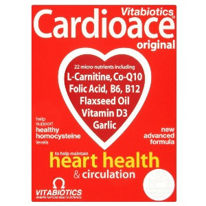 Image for Vitabiotics Cardioace 30 Tablets