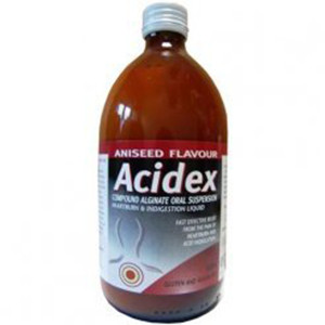 Image for Acidex Compound Alginate Oral Suspension Aniseed 500ml