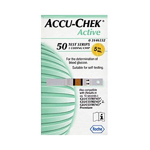 Image for Accu Chek Active Test Strips Pack of 50