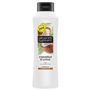 Image for Alberto Balsam Coconut and Lychee Shampoo 350ml