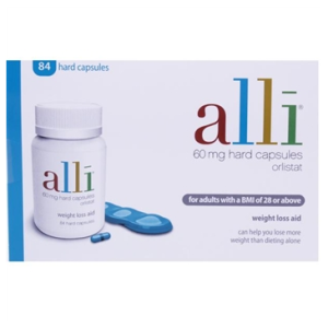 Image for alli 60mg Hard Capsules 84 Tablets Pack