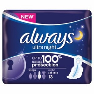 Image for Always Ultra Pads Night x 13 Pads