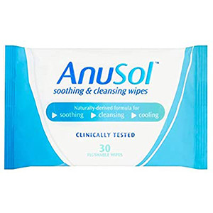 Image for Anusol Soothing & Cleansing 30 Wipes