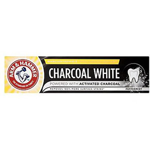 Image for Arm & Hammer Charcoal White Toothpaste 75ml