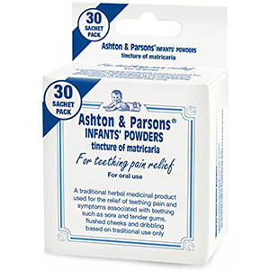 Image for Ashton & Parsons Infant Teething Powder 30 Sachets