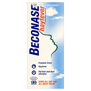 Image for Beconase Hayfever Relief 180 Dose Nasal Spray