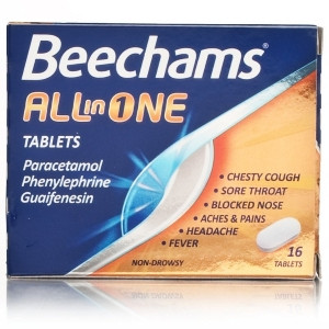 Image for Beechams All In One 16 Tablets