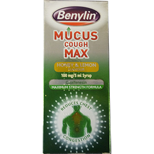 Image for Benylin Mucus Cough Max Honey & Lemon 150ml