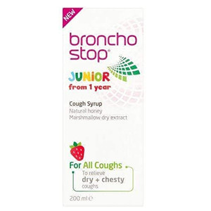 Image for Bronchostop Junior Syrup 200ml