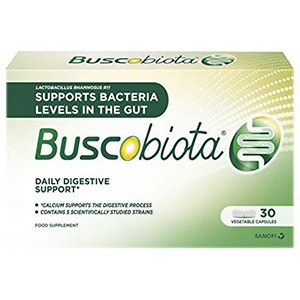 Image for Buscobiota Digestive Support 30 Vegetable Capsules