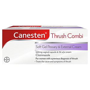 Image for Canesten Soft Gel Pessary and Cream Combi