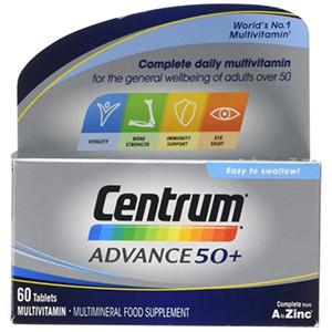 Image for Centrum Advance 50+ 60 Tablets