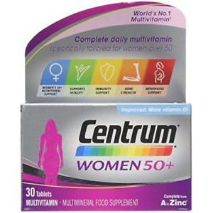 Image for Centrum Tablets for Women 50+ 30 Tablets
