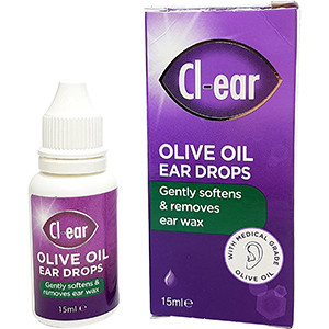 Image for Cl-ear Olive Oil Ear Drops 15ml
