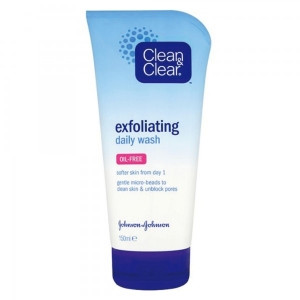 Image for Clean & Clear Exfoliating Daily Wash - 150ml