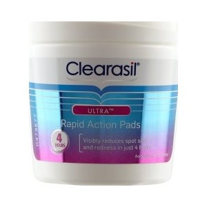 Clearasil Ultra Rapid Action Pads - Pack of 65 Pads
