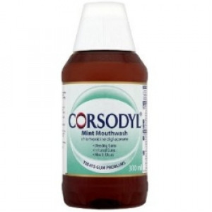 Image for Corsodyl Mint Mouthwash 300ml