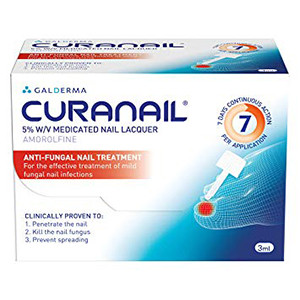 Image for Curanail 5% Nail Lacquer 3ml