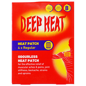 Image for Deep Heat Well Patch 4 Single Patches