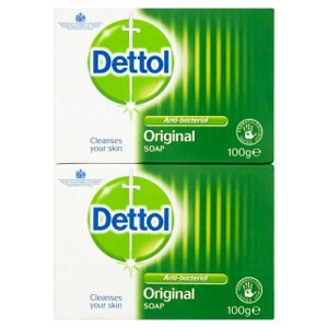 Dettol Soap Twin Pack (2 x 100g)