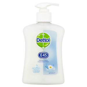Dettol Hand Wash with E45 Softness - Camomile - 250ml