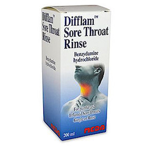 Image for Difflam Sore Throat Rinse 200ml