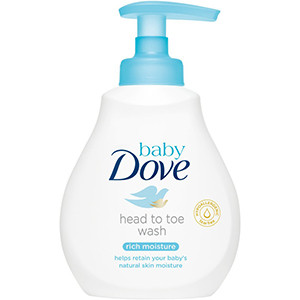 Image for Dove Baby Rich Moisture Head To Toe Wash 200ml