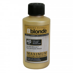 Jerome Russell Bblonde Cream Peroxide For Use With Powder Bleach Highlift 40 vol 12%