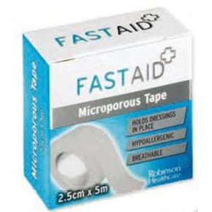 Image for Fast Aid Microporous Tape 2.5cm x 10m